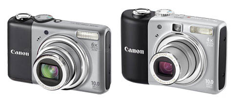 Canon PowerShot A1000 & A2000 IS