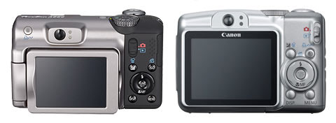 Canon PowerShot A650 IS & A720 IS